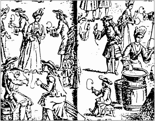 フランス16世紀銅版画